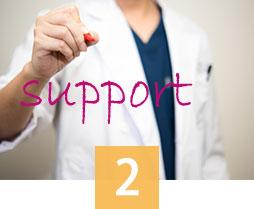 形成外科専門医による一貫サポート!